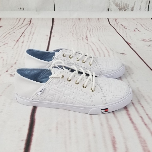 tommy hilfiger white shoes women